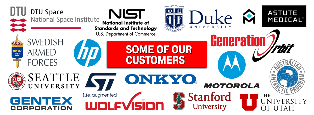 Some of our customers. All other trademarks are property of their respective owners.